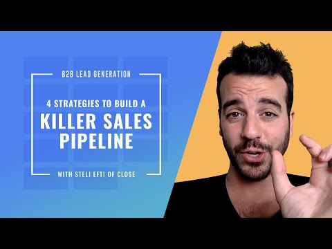 """""""B2B Lead Generation For Startups"""" by @Steli from Close.io"""