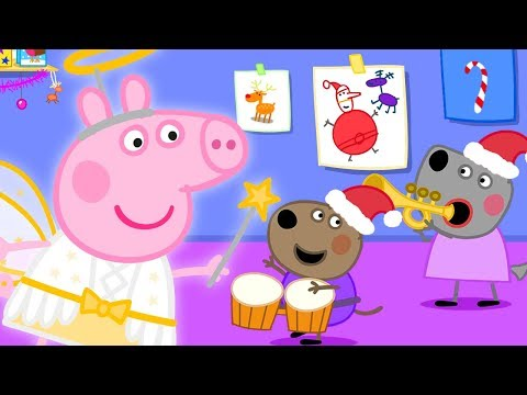 Peppa Pig Official Channel 🥁 Christmas Music Party at Peppa's Playgroup