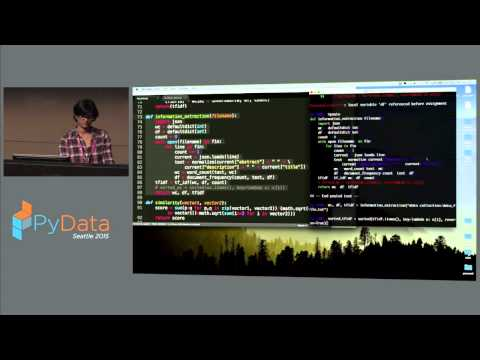 Rutu Mulkar Mehta: Using Python for Linguistic Data Analysis