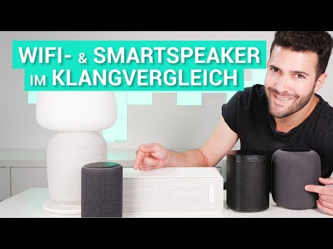 Ikea Symfonisk vs. Sonos One vs. HomePod vs. Echo Plus - Kurztest & Klangvergleich