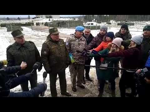 Начальник Объединённого штаба ОДКБ генерал-полковник Анатолий Сидоров об учениях