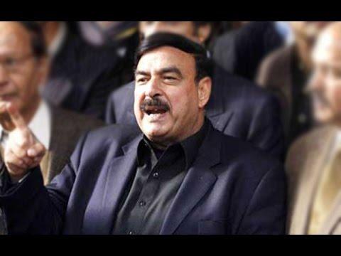 راولپنڈی میں شیخ رشید مسلم لیگ ن کے کارکنوں پر برس پڑے
