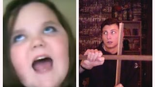 Crazy Reactions: Psycho Girl Tries To Sing I Will Always Love You.