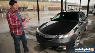 2012 Acura TL SH-AWD Test Drive & Luxury Car Video Review