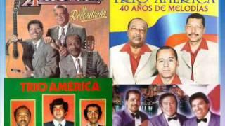 Trio America - Cuando voy por la calle