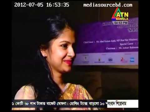 ATN Bangla Special Program on Dhaka Art Summit 2012 Part3