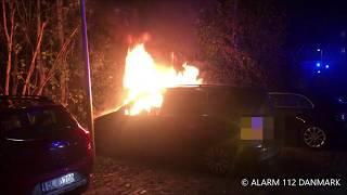05.11.2019 - Ild i bil ved Lyngby