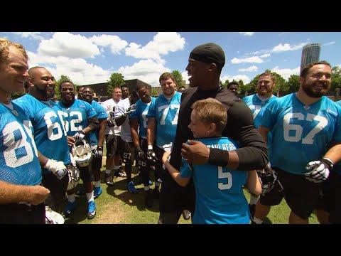 Sami Caulberg Meets the Panthers