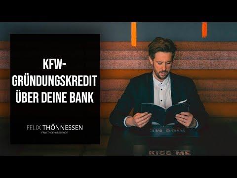Startup Finanzierung: KFW-Gründungskredit über deine Bank | felixthoennessen.de