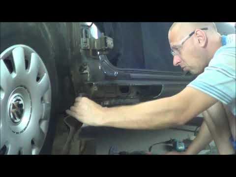 порог с сюрпризом быстрый ремонт Volkswagen Bora