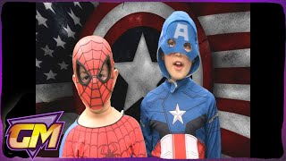 Download Epic Kids Rap Battle - Captain America Vs Spiderman (when they were young) MP3 song and Music Video