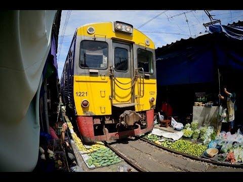 Maeklong Railway Full video メークロン線全線フル映像  SRT THAILAND 作業BGMに!