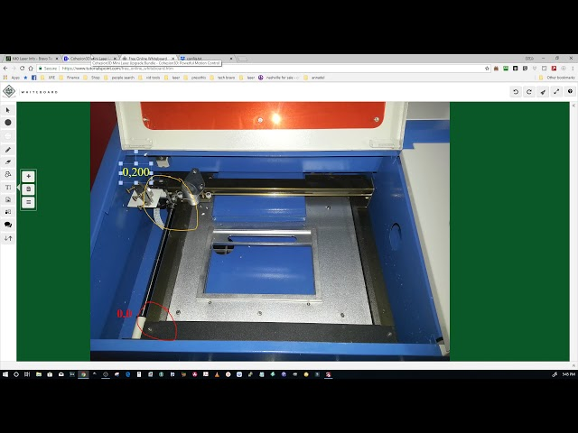 Setting Custom Bed Size For The Cohesion3d Mini