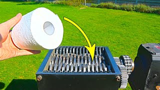 Shredding TOILET PAPER | Message to the WORLD !