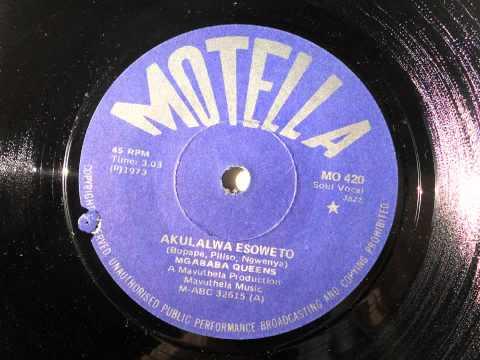 Mgababa Queens - Akulalwa Esoweto (Soul Vocal Jazz) (Motella 420)