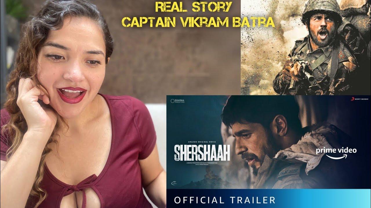 Shershaah - Official Trailer | Vishnu Varadhan | Sidharth Malhotra | Kiara Advani | Reaction