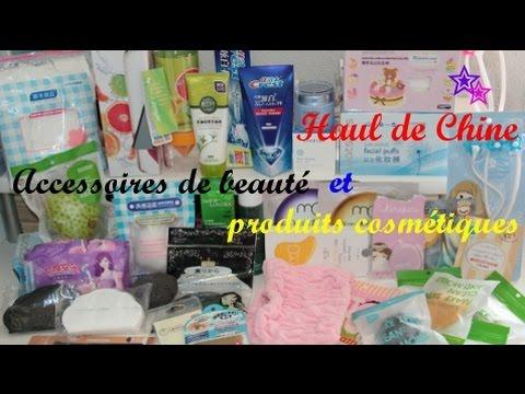 ♚HAUL spécial Chine♚ Accessoires de beauté et Produits cosmétiques