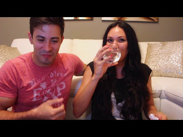 Vilmarie Mojica y Tommy Ramos- Bean Boozled Challenge
