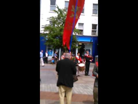 The TFP (American Society for the Defense of Tradition, Family and Property) in Cork City