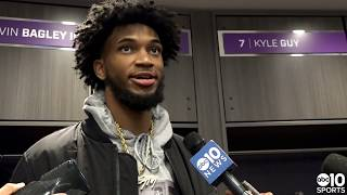 Marvin Bagley III returns for Sacramento Kings in 94-93 win over Oklahoma City Thunder