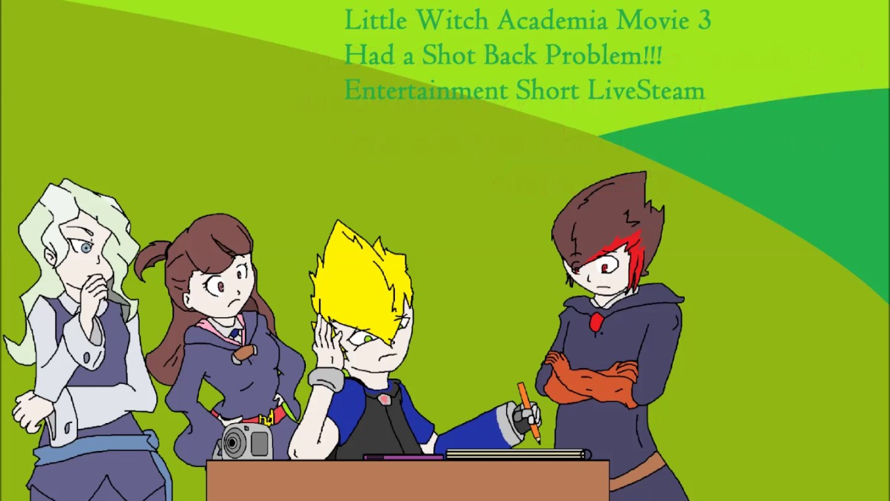 little witch academia stream