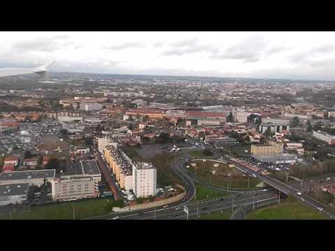 Atterrissage Toulouse Blagnac mouvementé