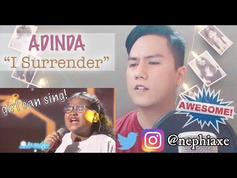 Adinda - I Surrender   REACTION