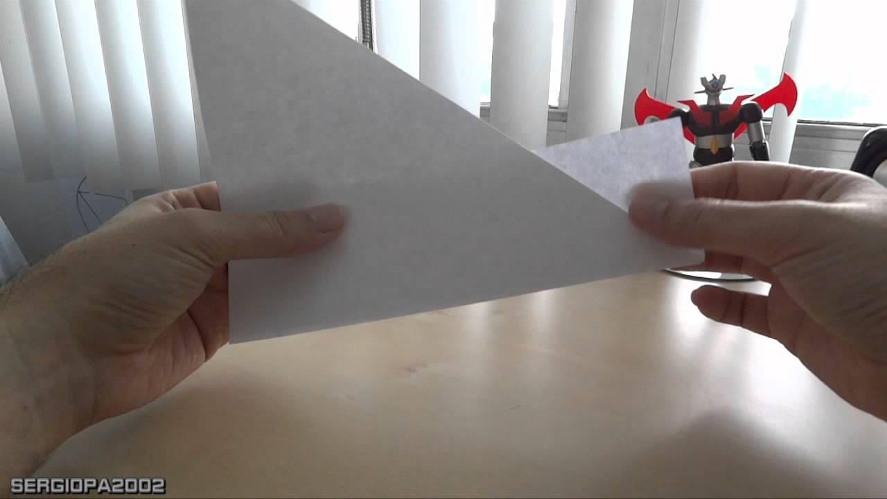 Como hacer un vaso con una hoja de papel normal sin goteo - Como hacer espaguetis al pesto ...