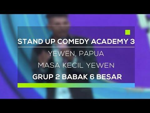 Stand Up Comedy Academy 3 : Yewen, Papua - Masa Kecil Yewen