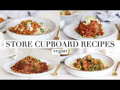 Store Cupboard Recipes (Self Quarantine) Vegan | JessBeautician
