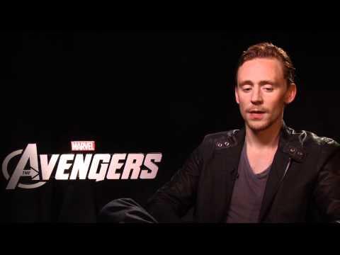 The Avengers - Tom Hiddleston Interview