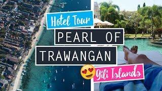Pearl Of Trawangan Hotel Tour // Exploring Gili T. // Indonesia