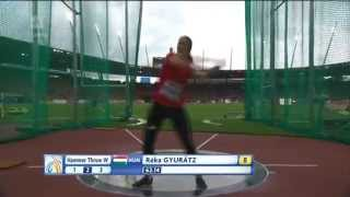 Women´s Hammer Throw Qualification European Championships Zürich, Switzerland 12.8.2014