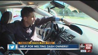 Melting dash major headache for drivers