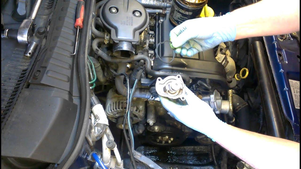Holden 3 8 V6 Belt Diagram Vauxhall Corsa Water Pump Part 2 Youtube