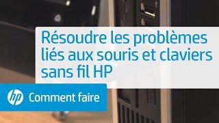 Résoudre les problèmes liés aux souris et claviers sans fil HP