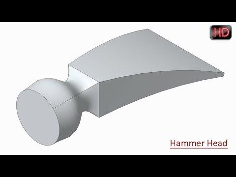 Creo Parametric Basic Tutorial || Blend (Loft) Feature