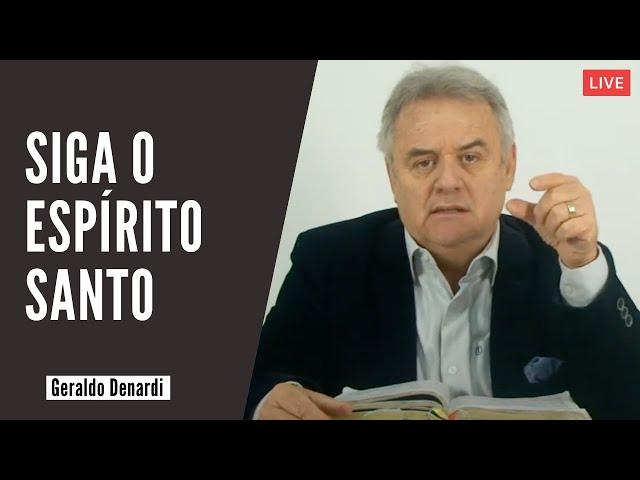 Siga o Espírito Santo - Ap. Denardi - Live 22/09