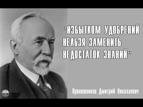 Академик Прянишников Дмитрий Николаевич