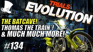 Trials Evolution #134 - The Batcave! Thomas The Train* & Much More!