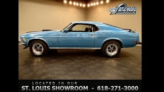 1970 Ford Mustang 428CJ for sale at Gateway Classic Cars in our St. Louis, MO showroom