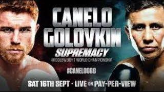 SAUL CANELO ALVAREZ VS GENNADY GGG GOLOVKIN PROMO | BIG DRAMA SHOW