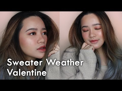 Gloomy Valentine Makeup with LOCAL PRODUCTS