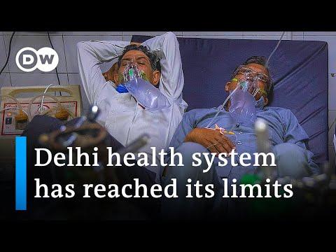 India: New Delhi locks down as COVID cases surge | DW News