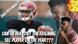 The Future Of Alabama Football!!! Tua Tagovailoa Highlights [Reaction]
