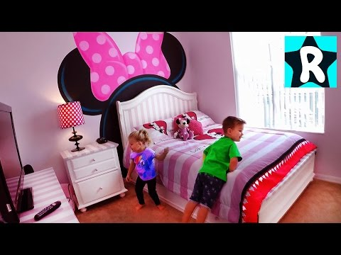 ВЛОГ Переехали в НОВЫЙ ДОМ Рум Тур нашего МЕГА Дома Room Tour VLOG for children Видео для Детей