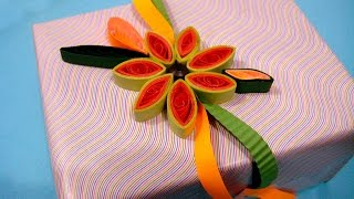 Paper Quilling Tutorial # 2- Learn Ravishing Flower Design @ ekunji.com