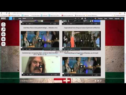 wix. com szerkesztés  magyar