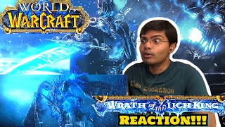 World of Warcraft: Wrath of the Lich King Cinematic Trailer Reaction!!