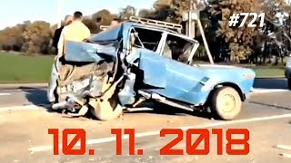 ☭★Подборка Аварий и ДТП/Russia Car Crash Compilation/#721/November 2018/#дтп#авария